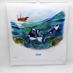 Изготовление календаря для Газпром