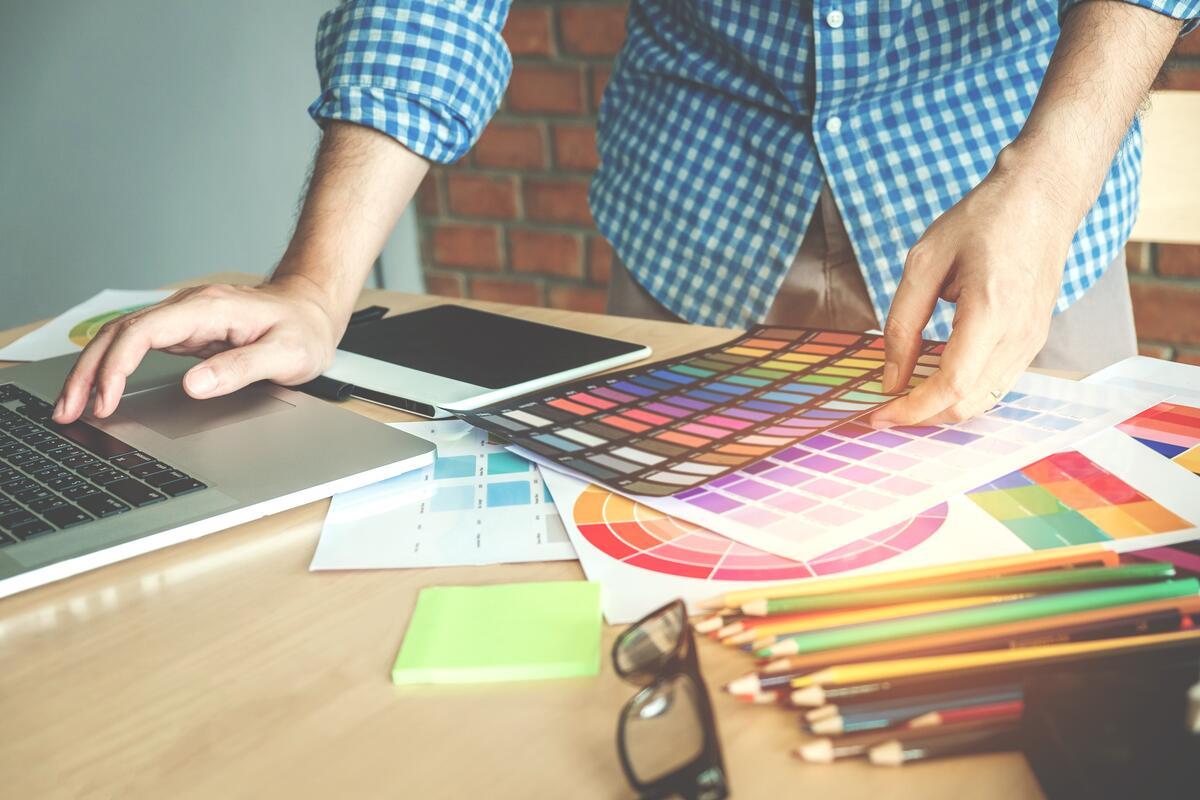 Создание дизайн буклетов